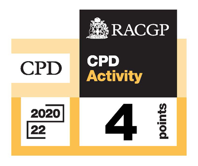 RACGP Approved CPD Activity logo 2020-2022
